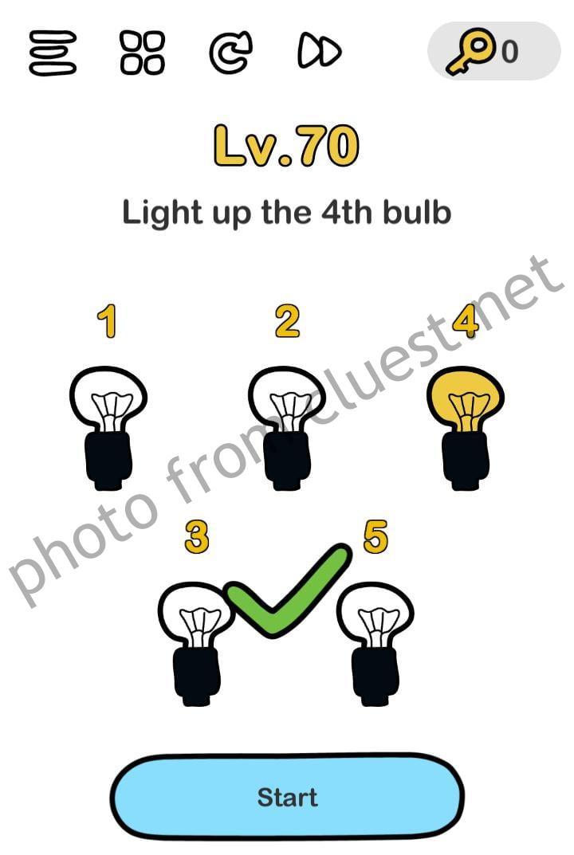 Jawaban Brain Out Level 73 : jawaban, brain, level, Light, Brain, CLUEST