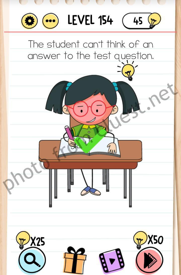 Jawaban Permainan Brain Test : jawaban, permainan, brain, Brain, Level, Student, Can't, Think, Answer, Question, Answers, CLUEST