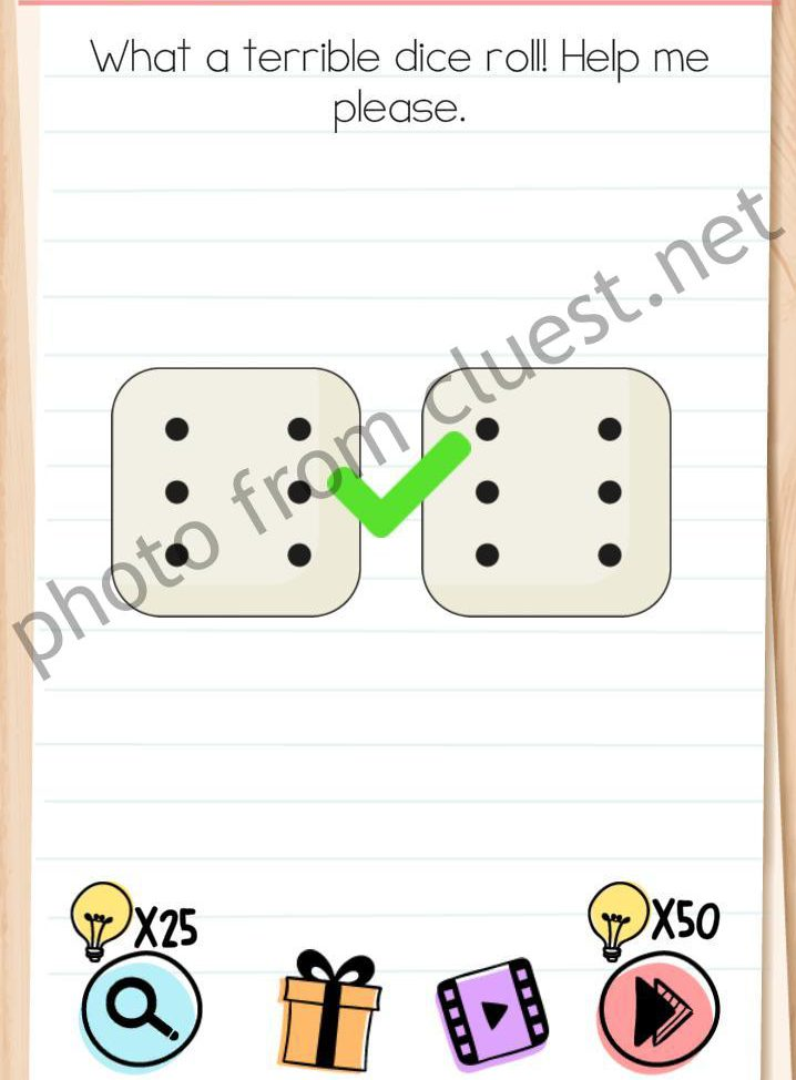 Brain Test Level 33 : brain, level, Brain, Level, Terrible, Roll!, Please, Answers, CLUEST