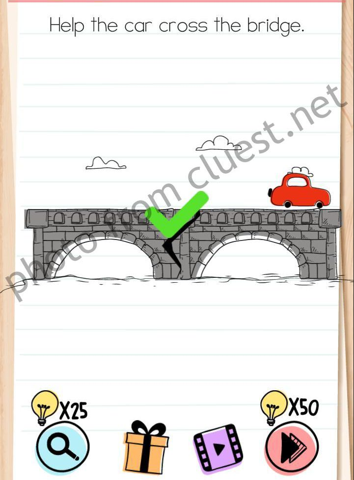 Brain Test Level 42 : brain, level, Brain, Level, Cross, Bridge, Answers, CLUEST