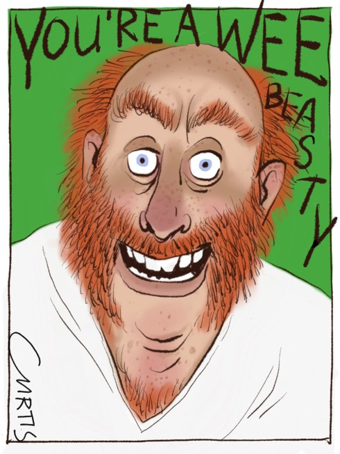 red hair cartoon cluestolife