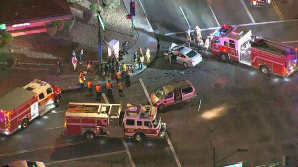 Car Accident in Phoenix Leaves 4 Seriously Injured, Including 2 Children