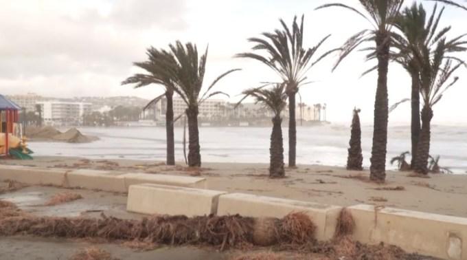 (Video) Furtuna care a anulat amicalul echipei CFR Cluj a făcut prăpăd în Spania. Doi oameni au murit, iar 190 de zboruri au fost anulate 1