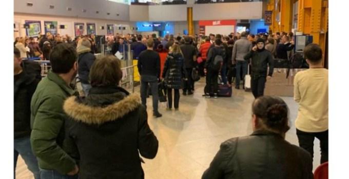 Aeroportul Cluj. 800 de călători blocați, 5 curse suspendate din cauza ceții! 5
