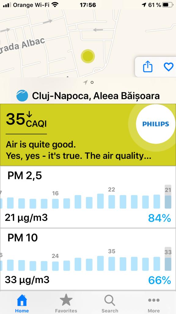 Cluj vs București vs Brașov. Calitate aer. Iar se supără Gabriela Firea pe clujeni 3