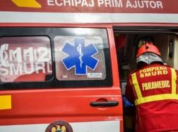 Cluj. Scene șocante în Mărăști. Un bărbat s-a tăiat la gât, cu un cuțit 11