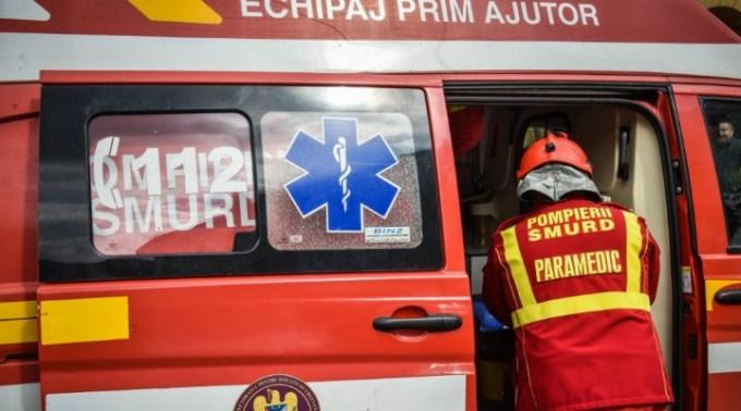 Cluj. Scene șocante în Mărăști. Un bărbat s-a tăiat la gât, cu un cuțit 1