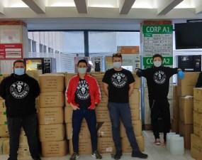 """Cluj. Beard Brothers ajută: """"A 3-a livrare. Astazi am ajuns la Spitalul Clinic De Boli Infectioase si la Spitalul Clinic de Pneumoftiziologie. Saptamana viitoare asteptam 9 000 masti FFp2 si 10 000 combinezoane..."""" 27"""