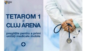 Cluj Arena transformat în loc pentru spital mobil pentru cei infectați cu coronavirus, dacă este cazul. La fel și noile hale din Parcurile Industriale Tetarom 1 2