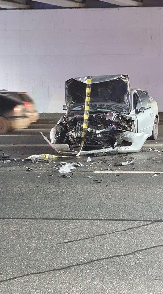 (Foto) Accident Cluj. Ciocnire violentă la Podul N, persoane rănite 6