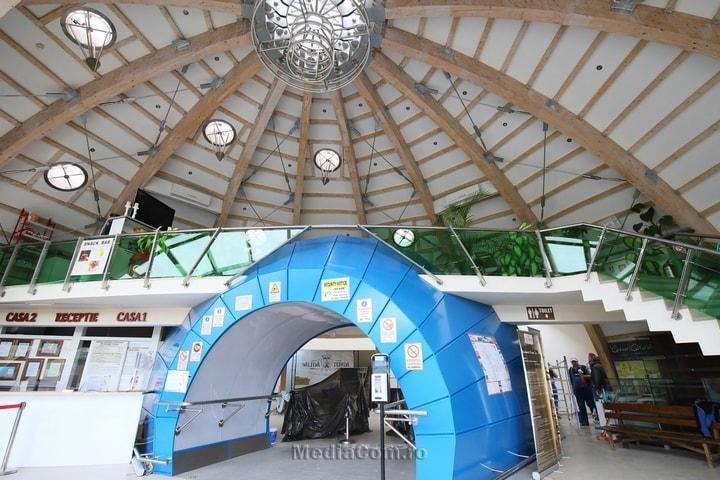 Cluj. S-a redeschis Salina Turda. Vizitatorii sunt obligați să poarte măști, le este luată temperatura la intrare, iar la toate punctele de atracție au fost instalate dispozitive cu dezinfectant 1