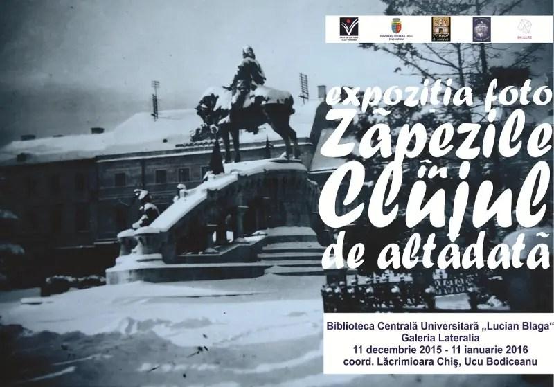 Expozitia de fotografie Zapezile in Clujul de altadata