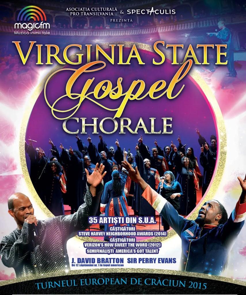 Virginia-State-Gospel-Chorale-Poster cluj-napoca concert