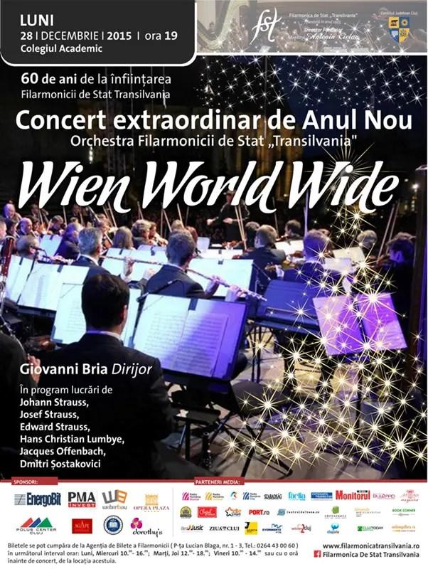 Concert extraordinar de Anul Nou – Wien World Wide