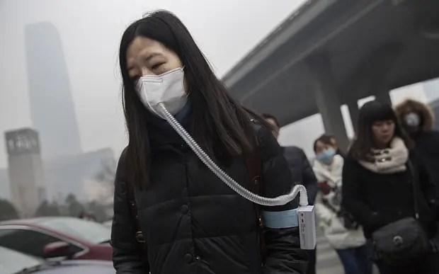 chinezii cumpara aer imbuteliat poluare