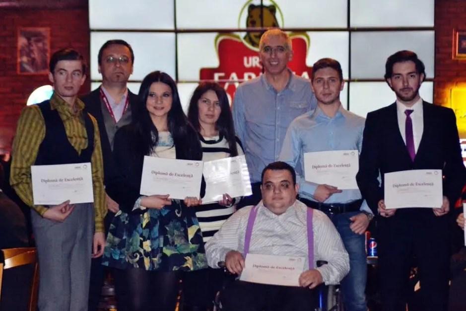 Premii de Excelenta URSUS pentru 10 studenti din Cluj-Napoca
