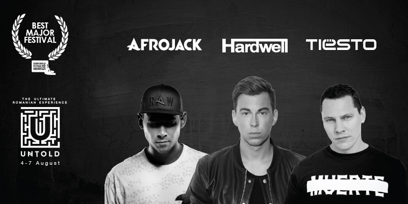 DJ AFROJACK SI HARDWELL vin la Untold Festival
