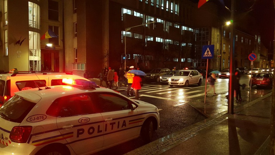 politisti Cluj actiuni scoli