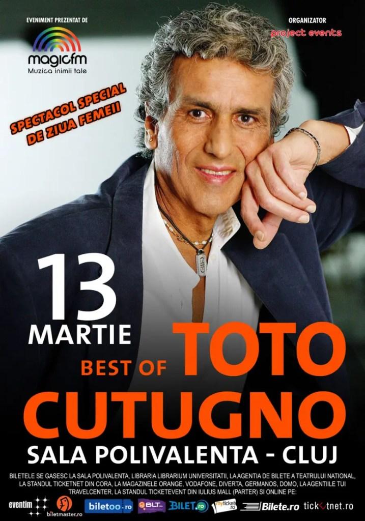 Concert Toto Cutugno la Cluj-Napoca de Ziua Femeii