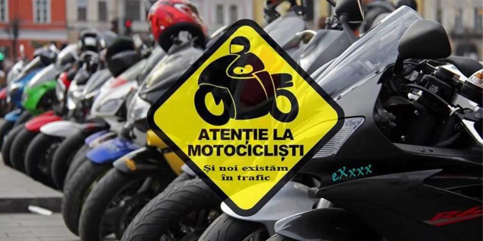 "Campania ""Atenție la motocicliști"""