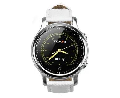 Smartwatch_Alb_Pedometru_Bluetooth_iOS_Android