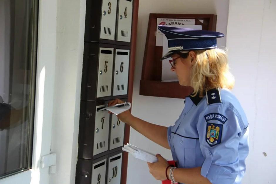Campania de prevenire a furturilor din locuinţe