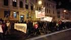 Sute de persoane au protestat duminică la Cluj