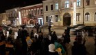 Protest în aceste momente în Cluj-Napoca