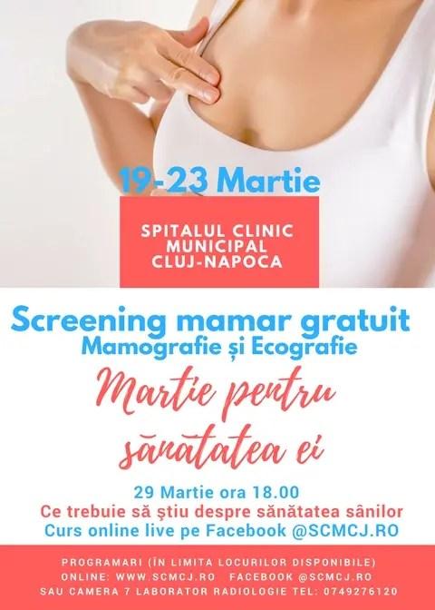 mamografii gratuite cluj