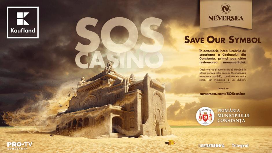 Organizatorii NEVERSEA vor să salveze cazinoul din Constanța