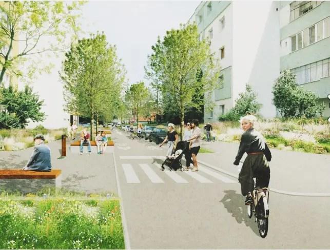 O stradă din Cluj-Napoca va deveni prima stradă SMART din România