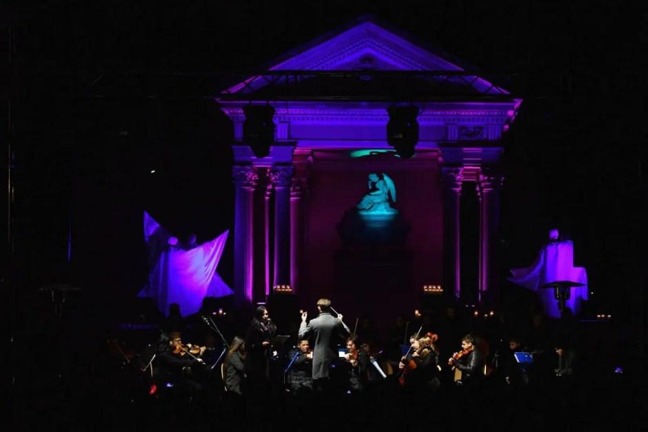 Inedit   Lacrimosa - concert de operă în Cimitirul Central din Cluj