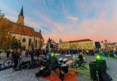 Concerte în Piaţa Unirii din Cluj, în cadrul Jazz in The Street