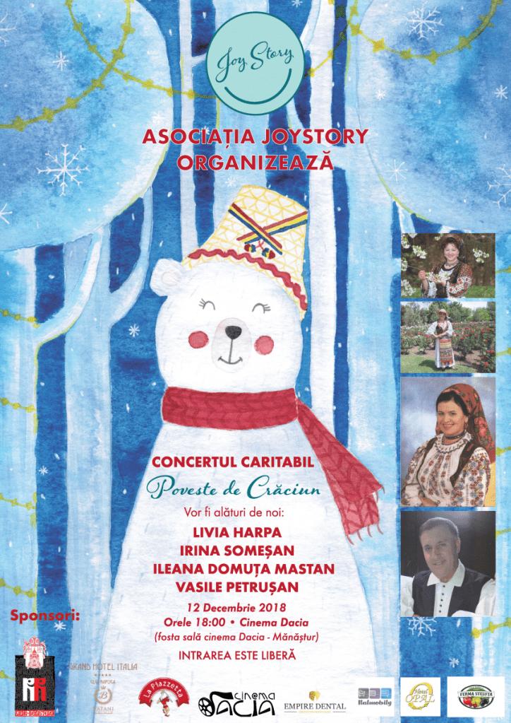"""""""Poveste de Crăciun"""" - concert caritabil de colinde la Cluj"""