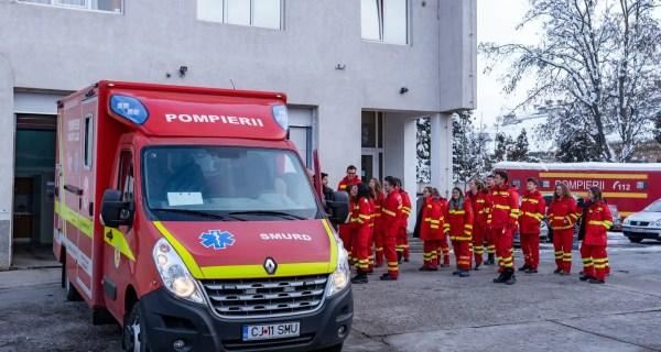 Beard Brothers a strâns bani pentru cea de-a doua ambulanță SMURD care va ajunge pe străzile din Cluj