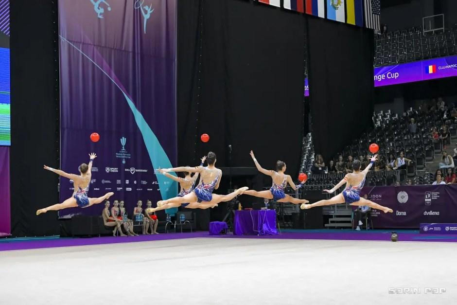Campionatul Mondial de Gimnastică Ritmică de la Cluj în 15 fotografii spectaculoase