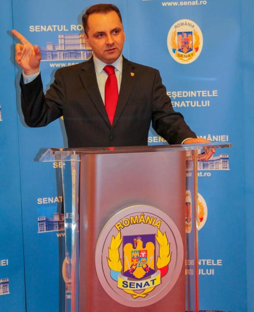 Senatorul PMP Cristian Lungu