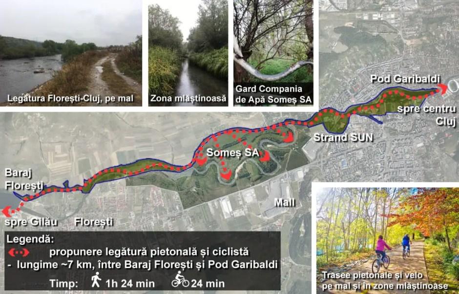 Propunere: pistă de biciclete care să lege Floreştiul de Cluj-Napoca în doar 24 de minute