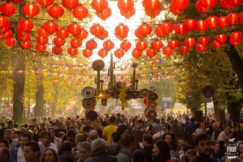 Cea mai mare ediție Street FOOD Festival din Europa de Est a avut loc la Cluj: peste 170 000 de participanți