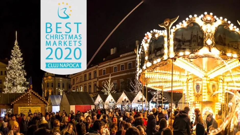 Târgul de Crăciun Cluj-Napoca pe locul 8 în topul celor mai frumoase Târguri de Crăciun din Europa