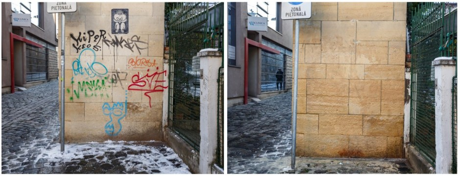 curatare graffiti cluj