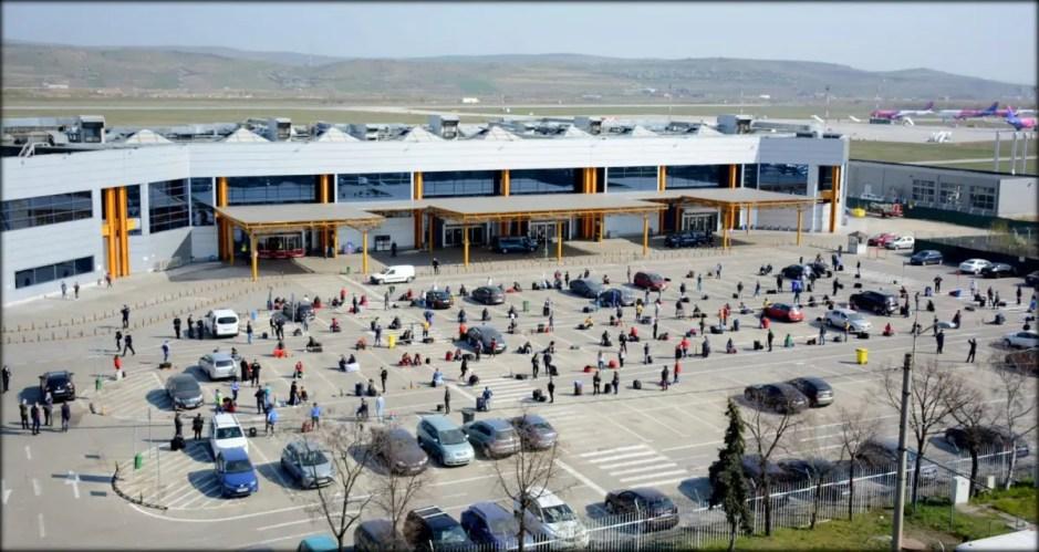 Alte 6 avioane vor duce astăzi români la muncă în Germania de pe Aeroportul Cluj-Napoca
