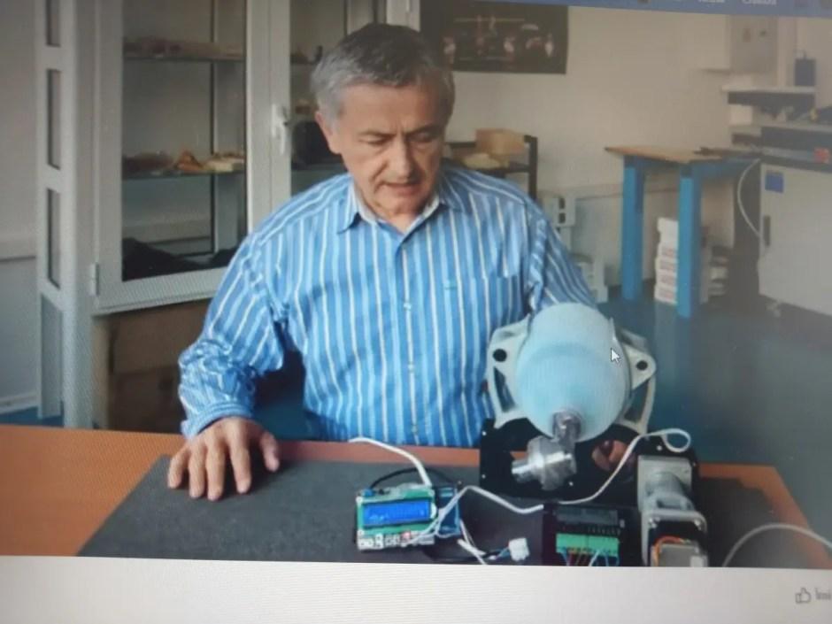 Prototip de Ventilator Mecanic de Urgență - conceput și fabricat la Universitatea Tehnică din Cluj-Napoca