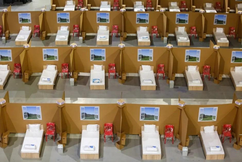 Spitalul de la Sala Polivalentă din Cluj a fost finalizat | Astăzi a avut loc recepţia