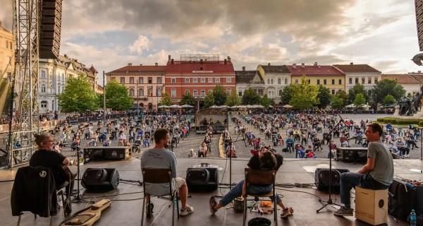 Ada Milea a susținut la Cluj un concert special, organizat în condiții de distanțare socială