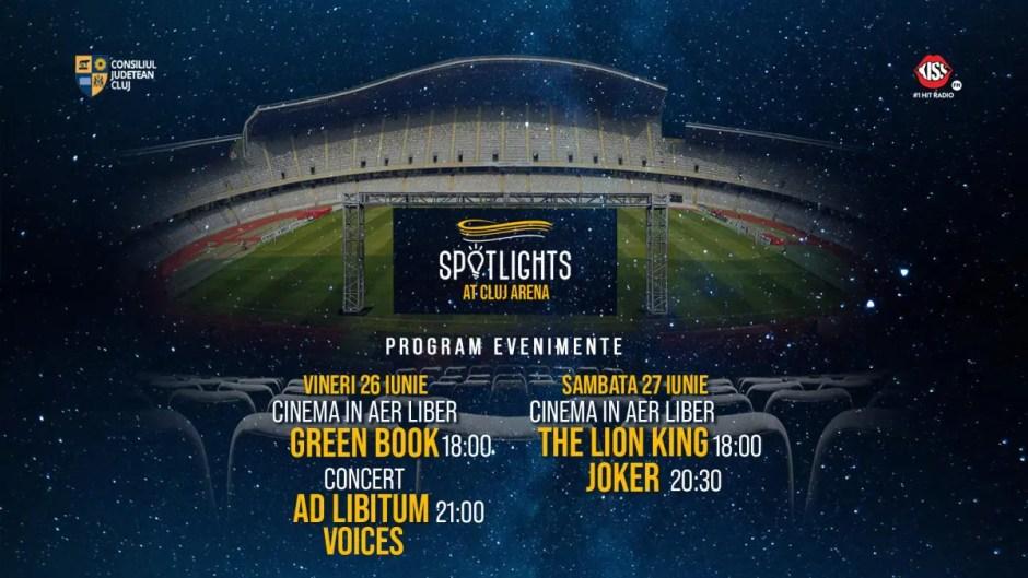 Evenimentele de la Cluj Arena continuă