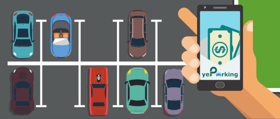 Şoferii îşi pot subînchiria contra cost locurile de parcare private prin intermediul aplicaţiei yeParking