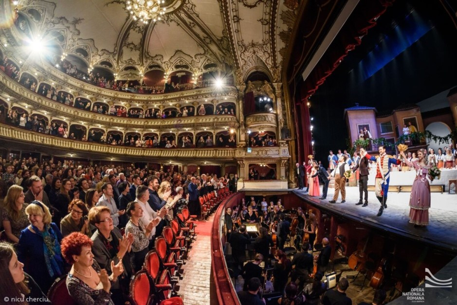 Primul spectacol cu public la Opera Naţională Cluj   Vor avea acces numai persoanele vaccinate