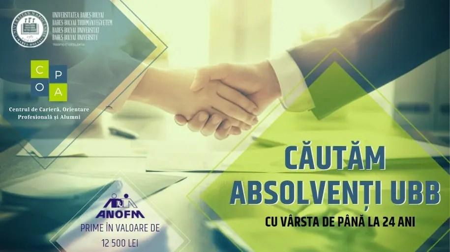 Absolvenţii UBB Cluj care îşi găsesc un loc de muncă vor primi bani de la stat