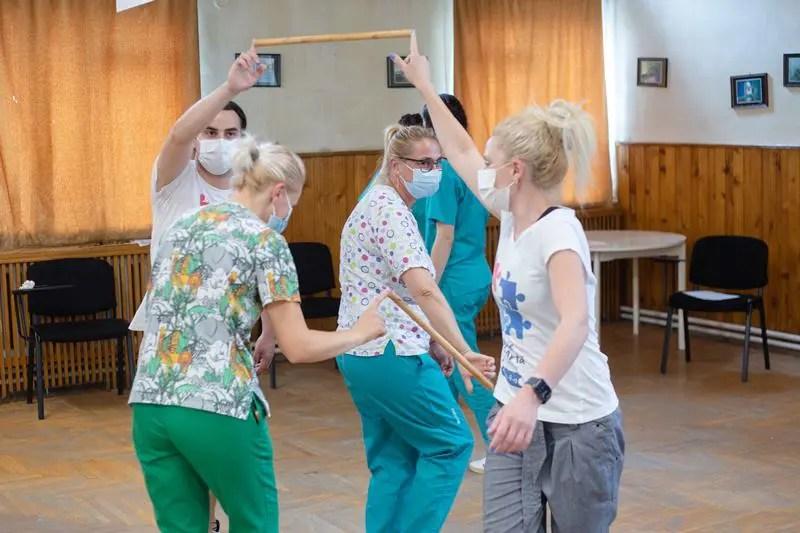 Proiectul Terapie prin Artă ajunge din nou în spitalele din Cluj